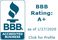 A+ BBB Business Rating