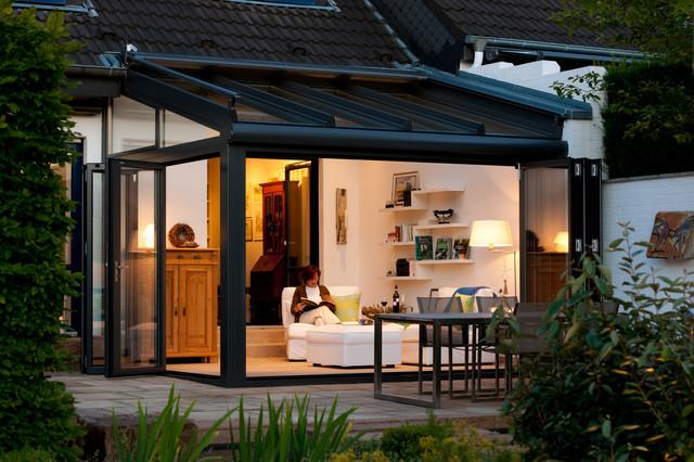 solarlux wintergarten landhausstil wintergarten. Black Bedroom Furniture Sets. Home Design Ideas