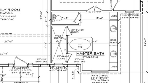 Need Help On Master Bath Floorplan