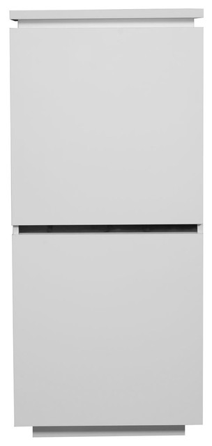 Electra 2-Door Cupboard, White High Gloss