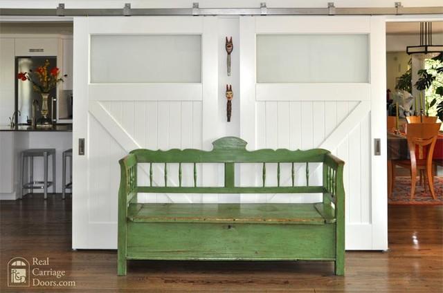 Room Divider Sliding Doors With Stainless Box Rail Sliding Hardware