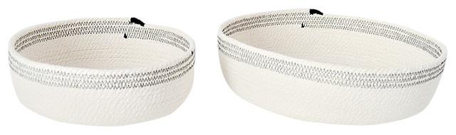 Scandimed Decorative Bowls, Black, Set of 2