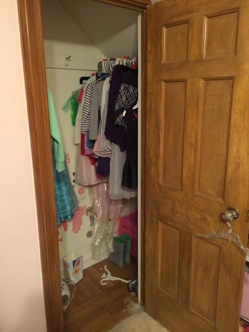 Wonderful Cape Cod Closets #5: 1940u0027s Cape Cod Closet
