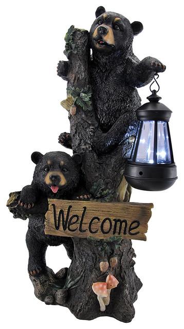 Shop Houzz Zeckos Little Rascals Climbing Bear Cubs