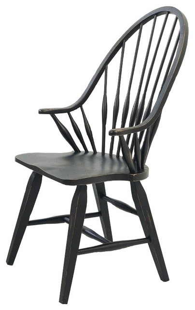 Attic Heirlooms Windsor Dining Arm Chair.