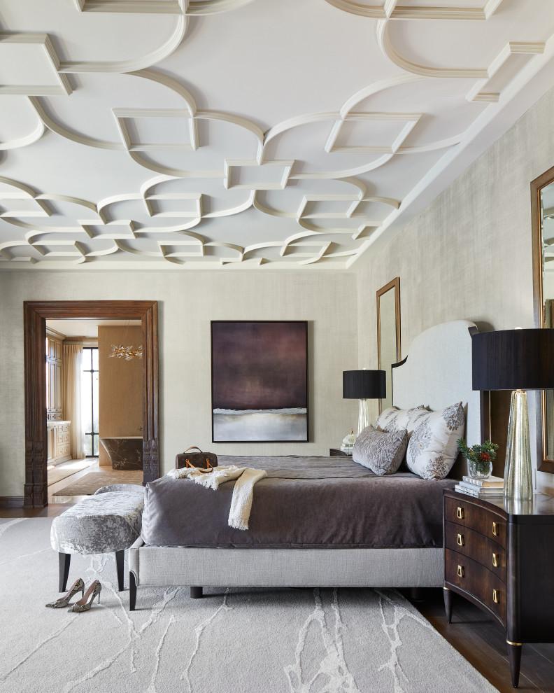 Transitional bedroom photo in Phoenix