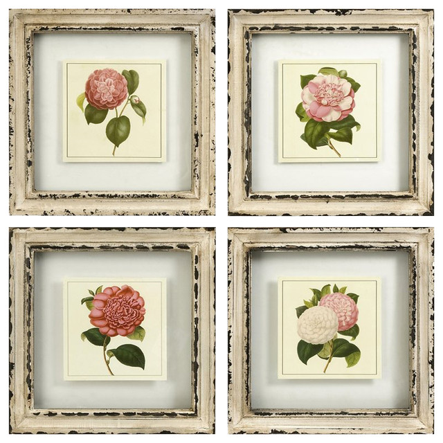Imax Corporation Lynette Framed Artwork (set Of 4).