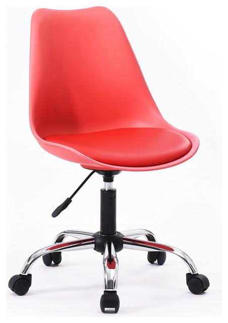 Office Chair, Red