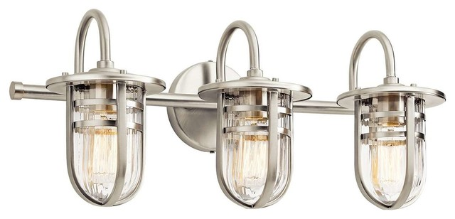 Fancy Beach Style Bathroom Vanity Lighting by Arcadian Home u Lighting