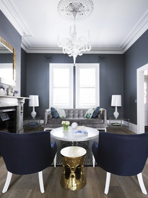 With Some Color Ideas I Love Modern But Need A Somewhat Transitional Look So Dont Shock The Guys Found Other Photos On Houzz Couldnt