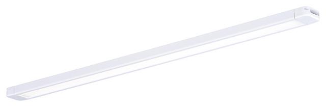 "16"" Instalux LED Slim Under Cabinet Strip Light White"