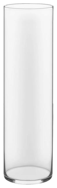 "Cylinder Vase, 28"" 8"", 1 pc"