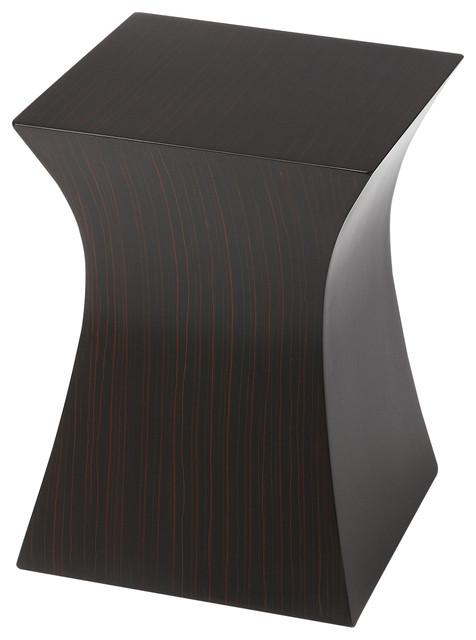 Julian Modern Accent Table   Black