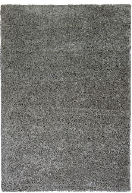 Solid Striped Madison Plain Area Rug Rectangle Gray 5 X7