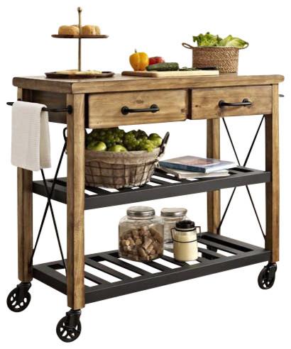 Roots Rack Kitchen Cart