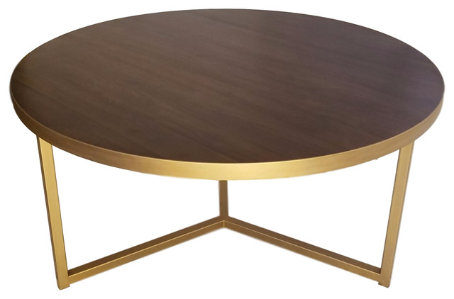 Remarkable Luxury Brass Dining Table With Walnut Top Interior Design Ideas Tzicisoteloinfo