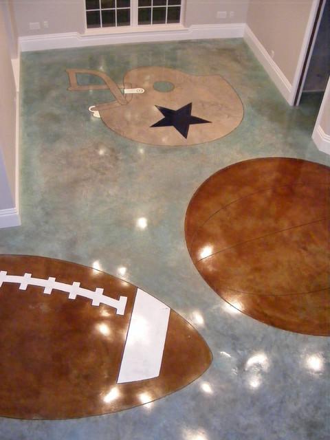 Awesome Interior Concrete Floor Ideas Contemporary