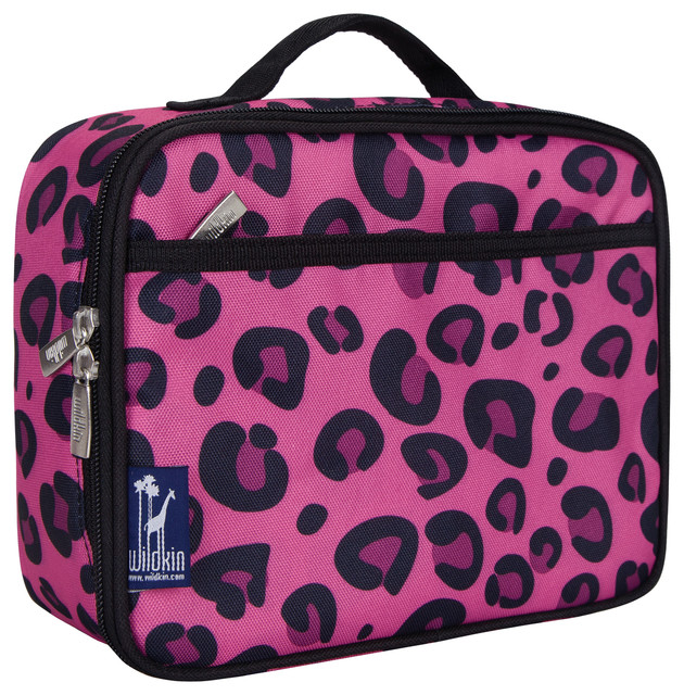 Animal Print Lunch Box Pink Leopard