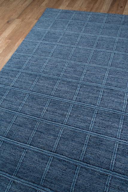 Gramercy Hand-Loomed Rugs, Denim, 2&x27;x3&x27;.