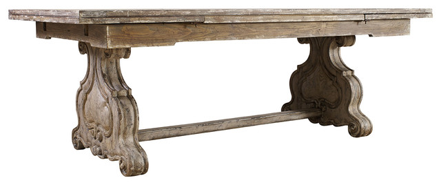 chatelet trestle dining table
