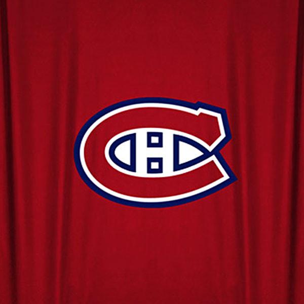 NHL Montreal Canadiens Hockey Locker Room Shower Curtain