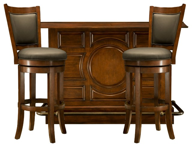 Indoor bars furniture Free Standing Bar Set Indoor Pub And Bistro Sets Other By Raymour Flanigan Furniture And Mattresses Evohairco Dublin 3pc Bar Set Indoor Pub And Bistro Sets Other By