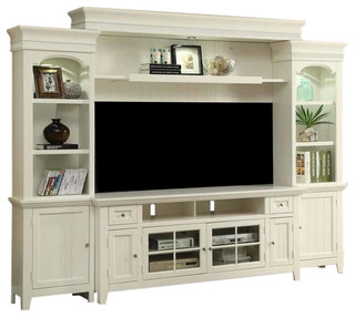 vintage entertainment center tidewater vintage style white 72 quot entertainment wall 3193