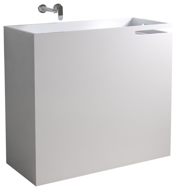 pedestal sink contemporary bathroom sinks by adm bathroom design
