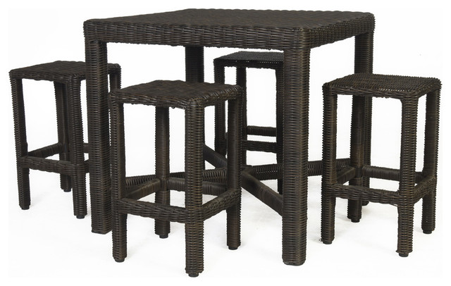 Barossa High Dining Set Of 5