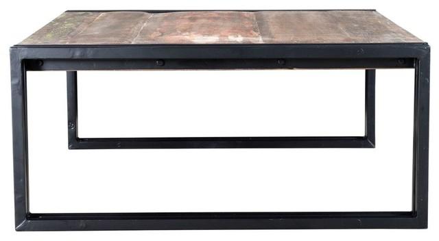 Old Reclaimed Wood Coffee Table 42 X20 X18 Industrial Coffee