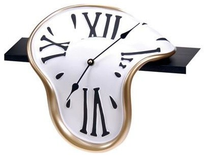 Classic Shelf Wall Clock