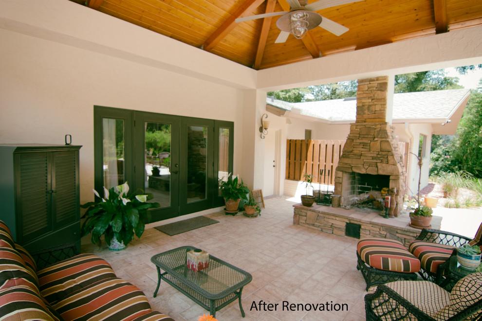 Pool Cabana Addition and Interior Renovation