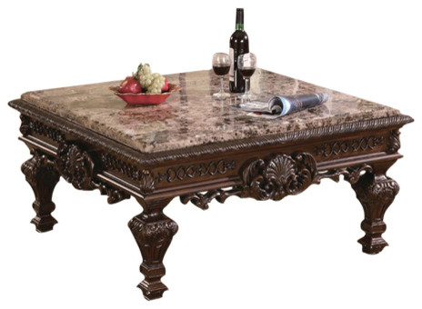 Great Wilmer Marble Cocktail Table Victorian Coffee Tables