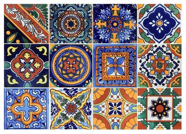 Mexican Talavera Handmade 6 X6 Tiles