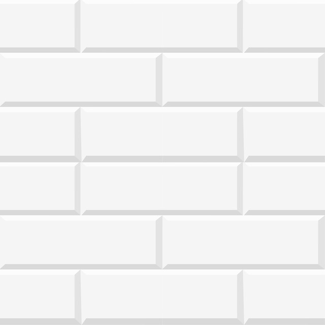 White Bricks Peel And Stick Foam Tiles Contemporary Wall Decals Part 98