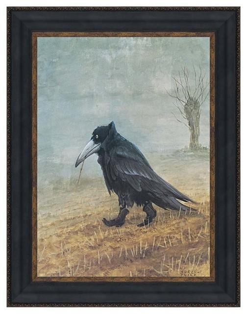 """Krahe the Raven"" Replica Print, 28.5""x36"""