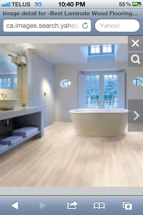 Laminate Floor For Bathroom?? Cons Pros?