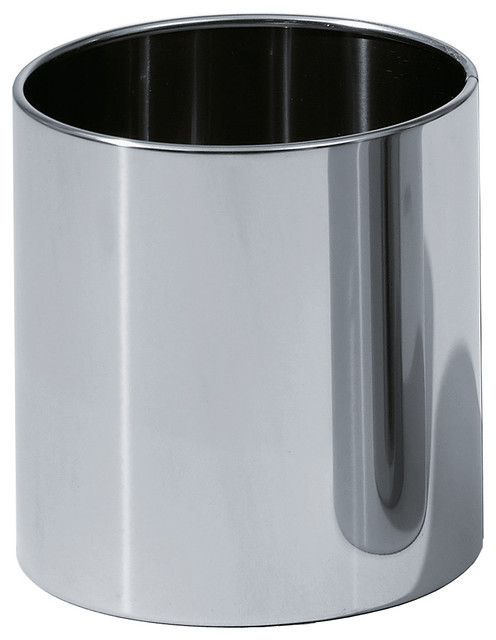 Shop houzz dwba bath collection dwba round open top for Covered bathroom wastebasket
