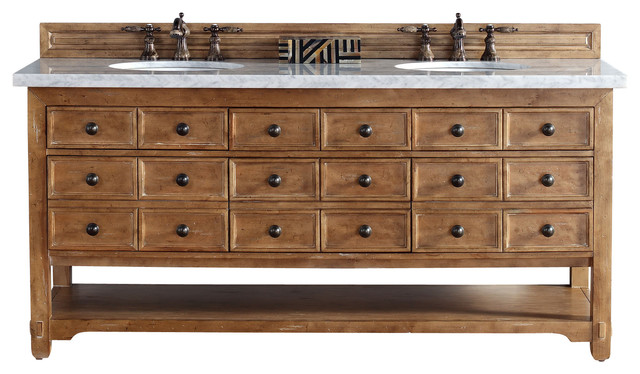 Malibu 72 Double Vanity Cabinet (cabinet Only, No Top).