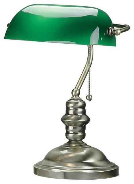 Lite Source LS-224AB Banker Desk Lamp