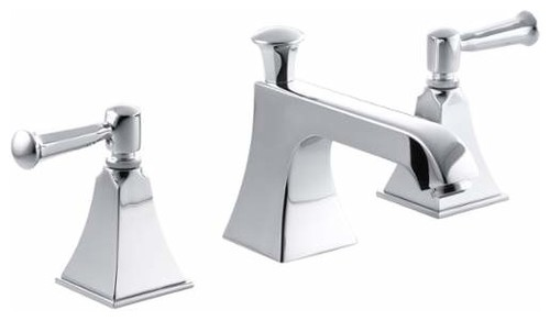 Kohler K-454-4S Memoirs Stately Widespread Bathroom Faucet