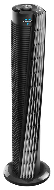 184 Tower Circulator, Black.