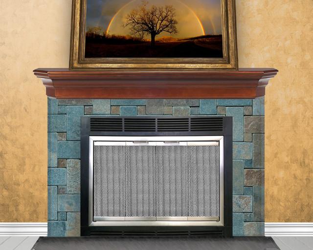 Rainbow Zero Clearance Fireplace Door