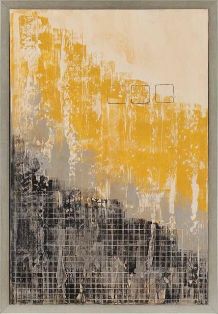 """Diligence I Artwork, 26""""x38""""."""