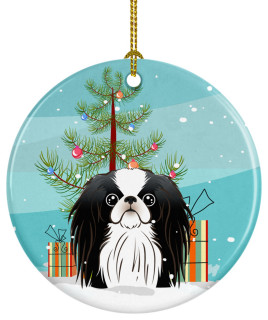 Christmas Tree Japanese Chin Ceramic Ornament Contemporary Christmas Ornaments By Virventures