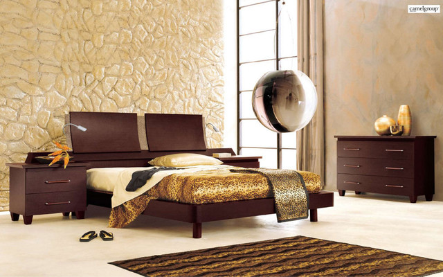 Miss Italia Modern Bedroom Set Comp 4 Modern Beds By Modern Furniture W