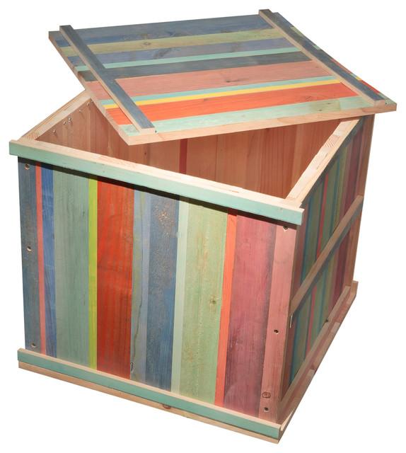 Square Storage Box Trunk, Square.
