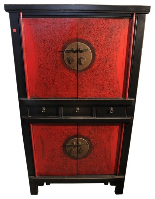 59 Chinese Chest on Chest Finished, 2-Tone Lacquer