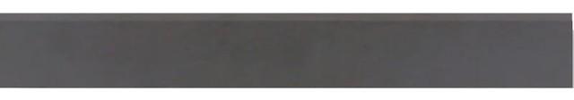 """Elephant Matte Bullnose Modern 3.25""""x24"""" Tile, Set of 10"""