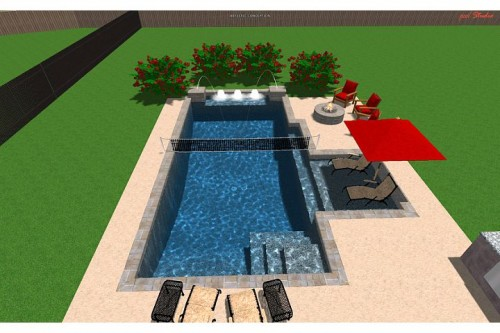 What is the price range of a basic rectangular pool like for Pool design basics